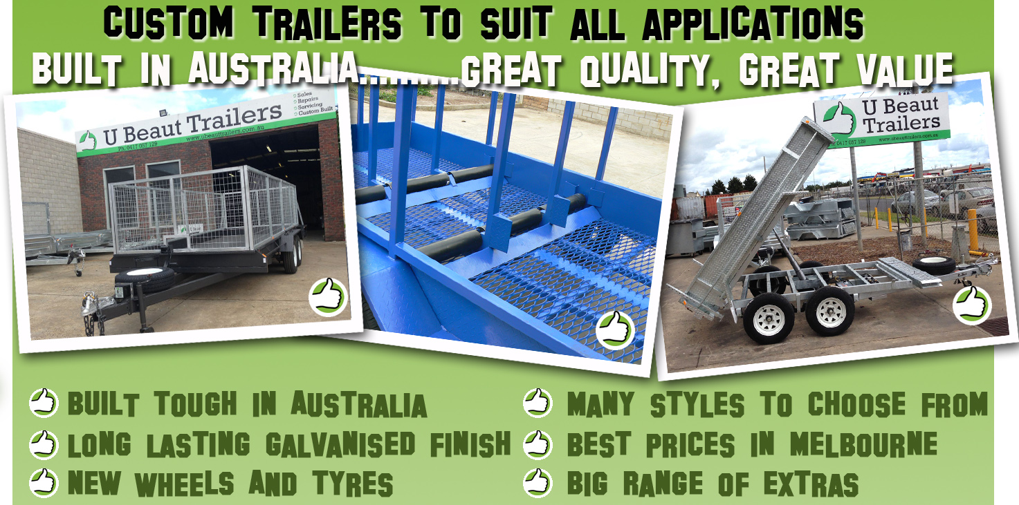 Galvanised Car Trailers For Sale In Melbourne Cheap Car Trailer
