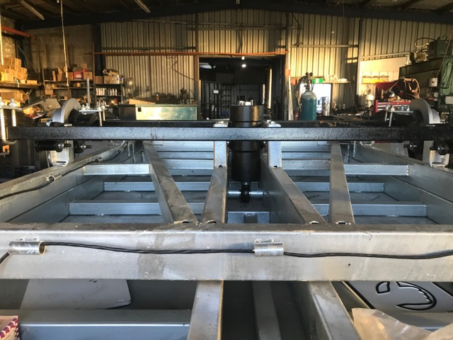 10x5 Hydraulic Tandem Tipper 2000kg 2ton