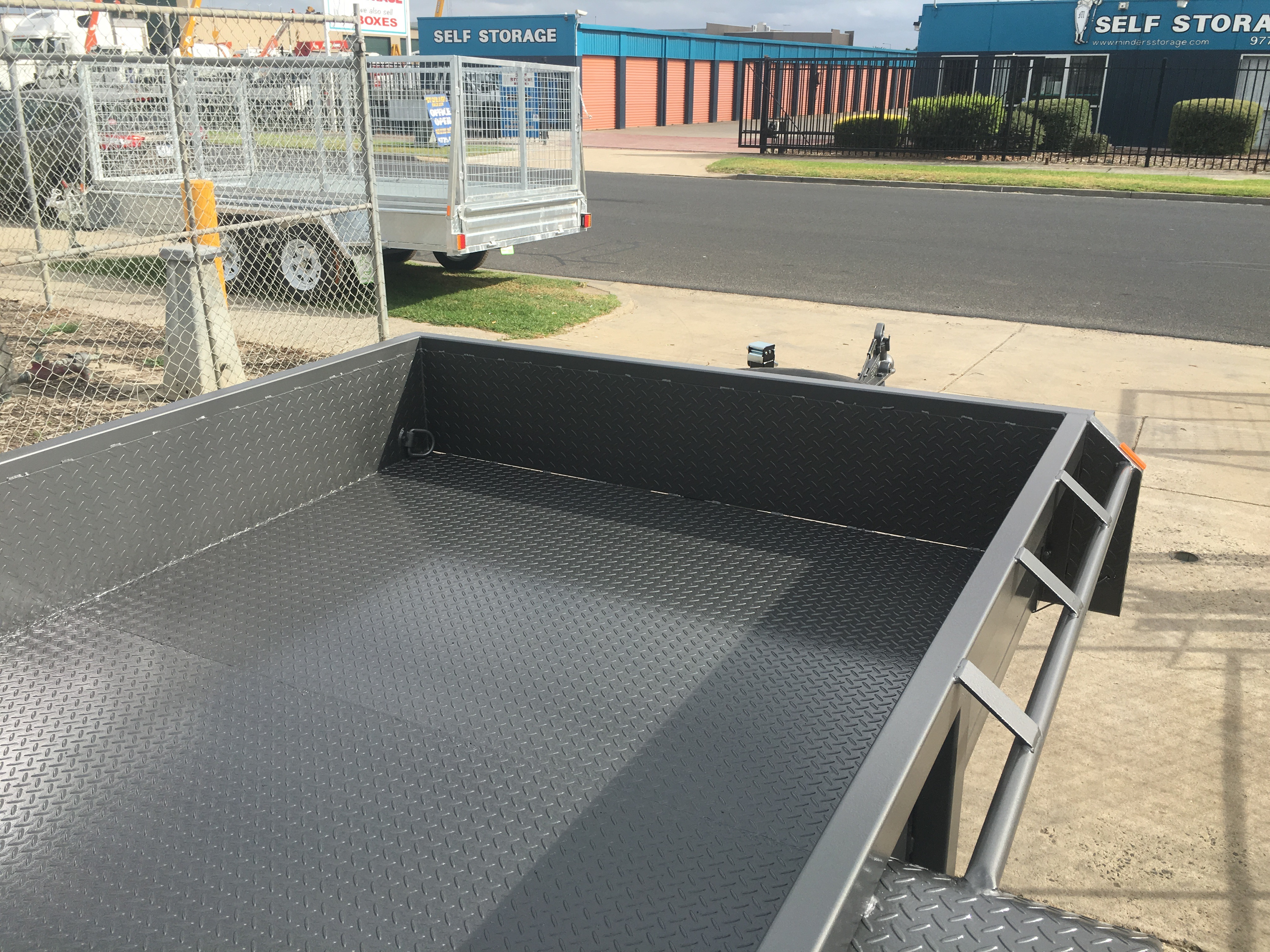 12x6 tandem Plant trailer 4500kg