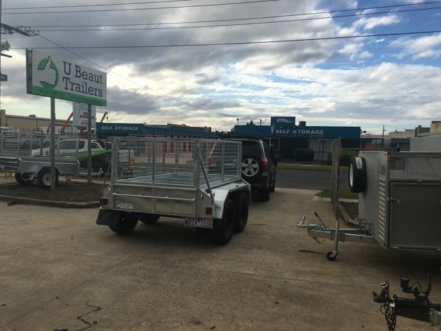 8x5 Tandem Trailer Off Road Heavy Duty 400mm Deep Side 2000kg ATM Australian made