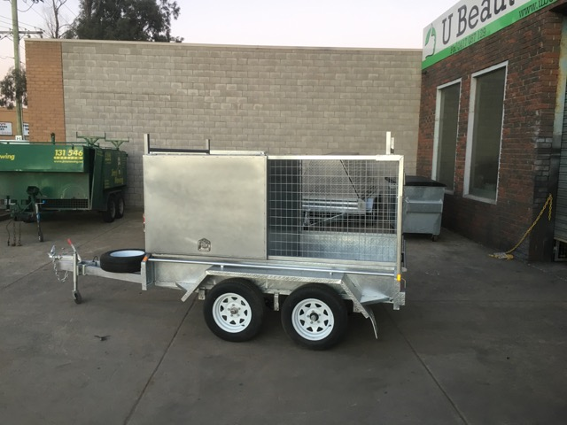 Only $4095! 8x5 Tandem tradesman trailer Galvanised