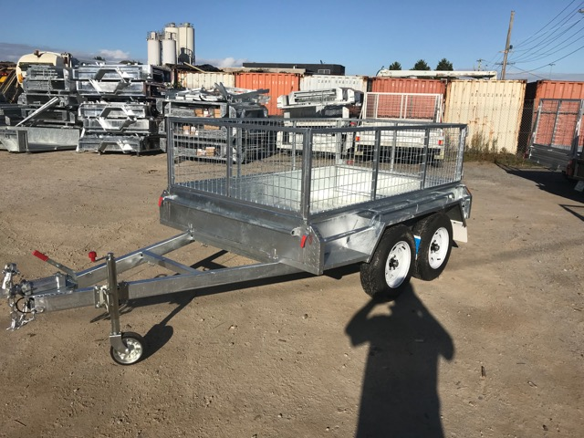 8x5 Tandem trailer galvanised