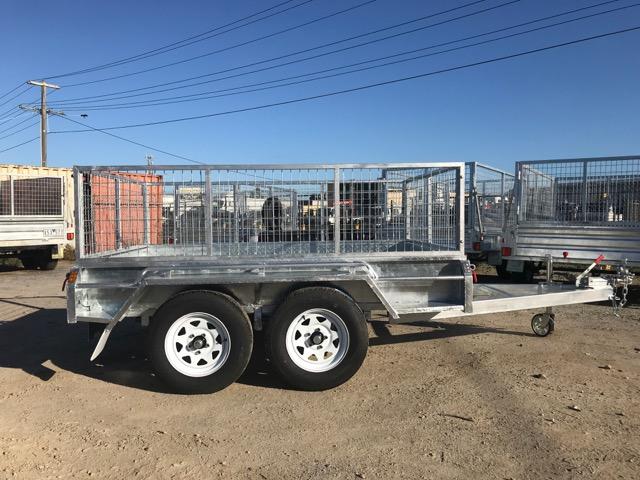 8×5 Tandem Axle Trailer Galvanised 2000kg ATM
